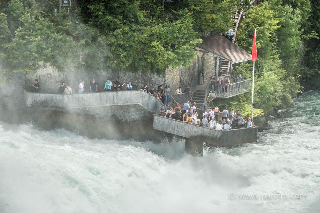 Besucher Rheinfall