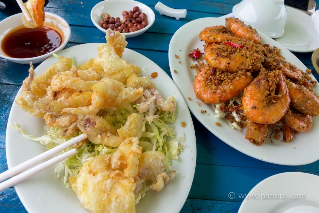 Hilton Seafood Lamma Island