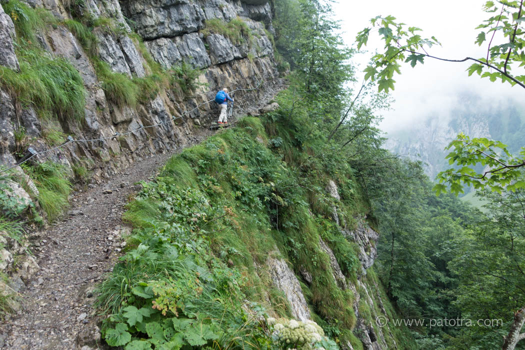 Aufstieg zur Meglisalp