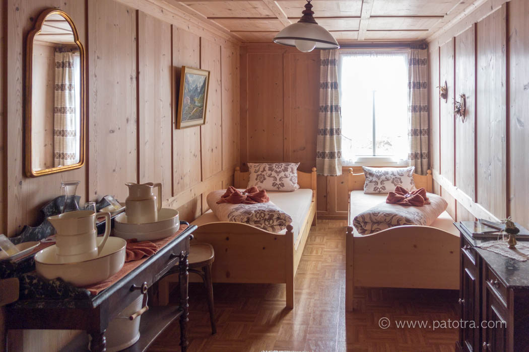 Zimmer im Berggasthaus Meglisalp