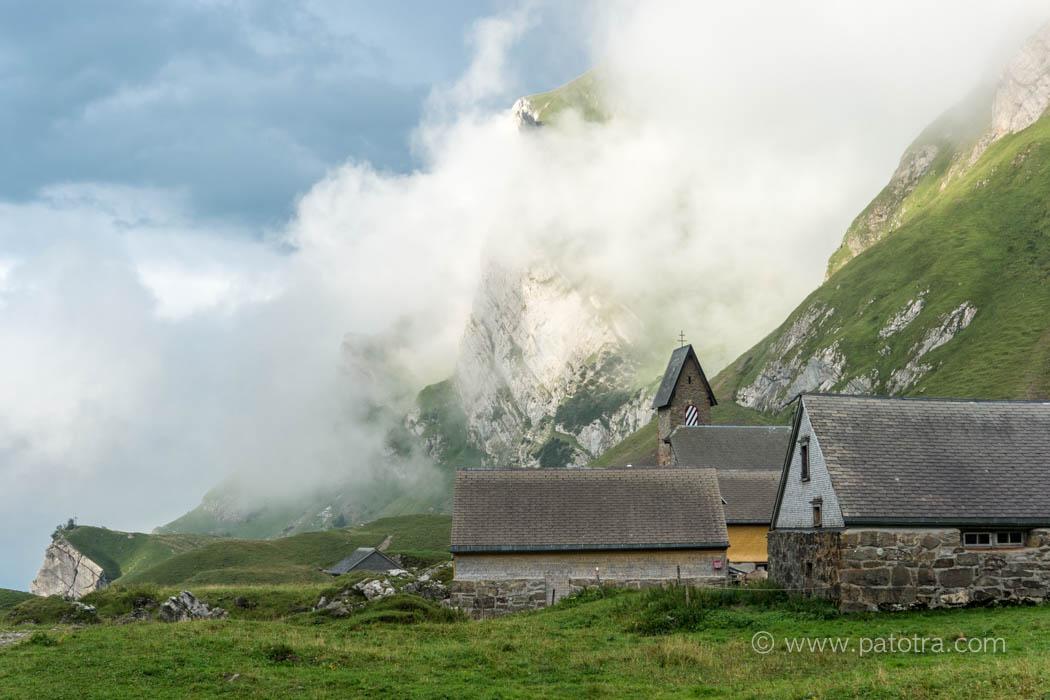 Wolken über der Meglisalp