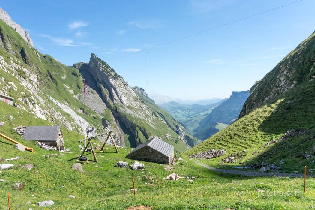 Panorama vom Berggasthaus Mesmer