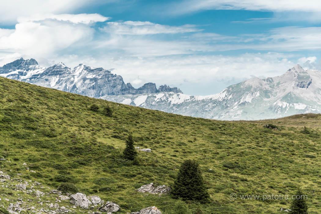 Alpenblick Tschiertschen