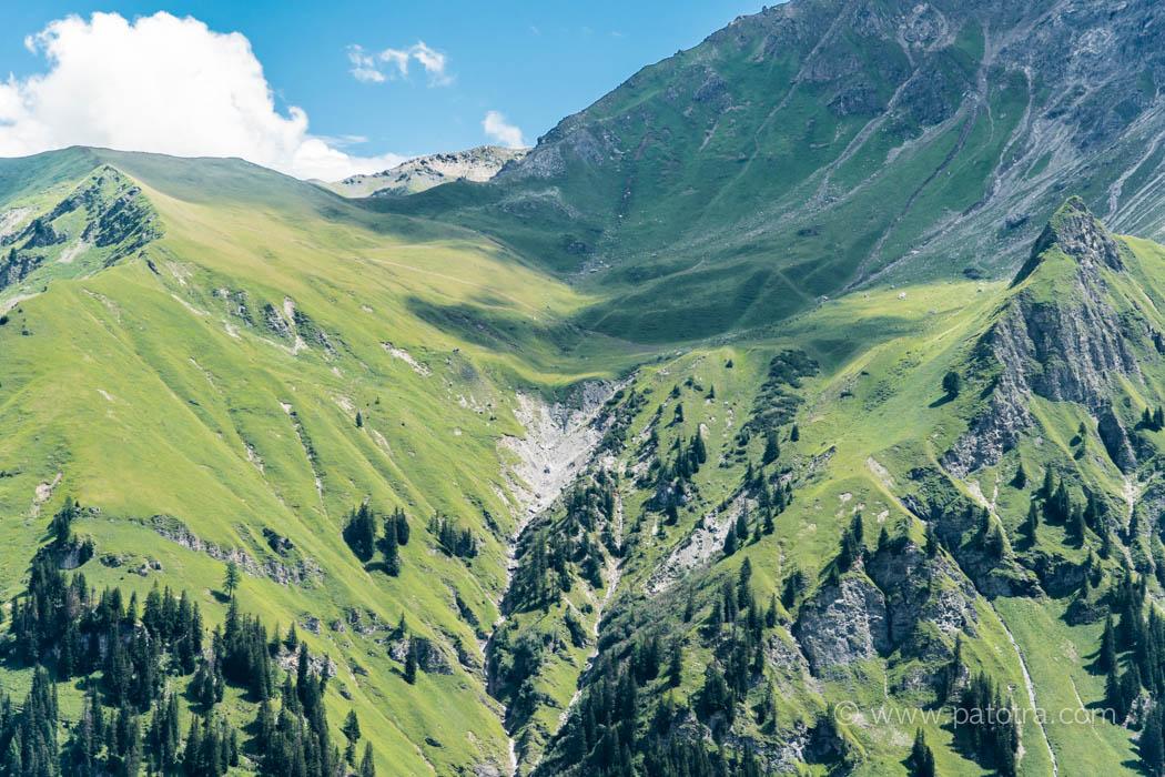 Wanderweg Jochalp Tschiertschen