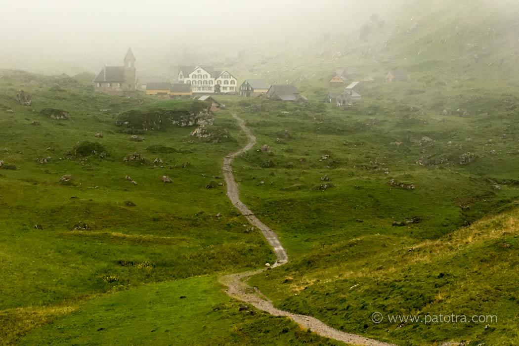 Meglisalp im Nebel