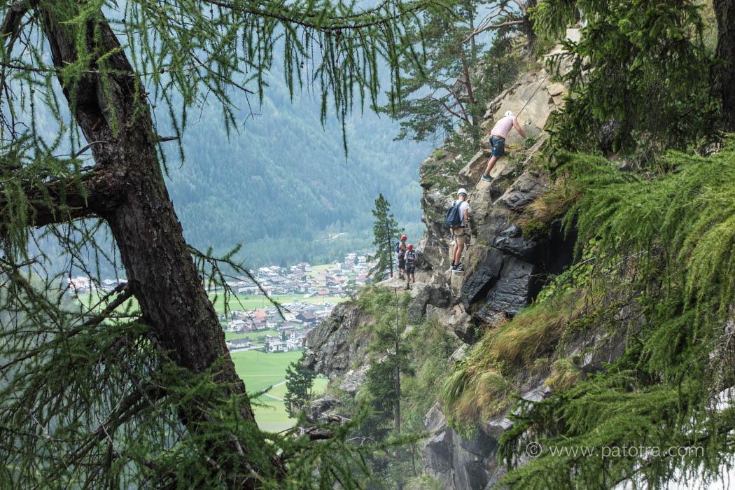 Klettersteig Tirol Stuibenfall
