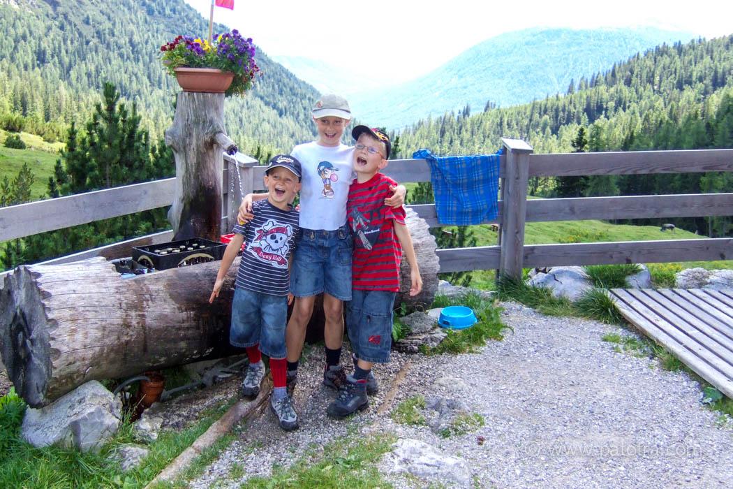 Wandern mit Kindern 2008