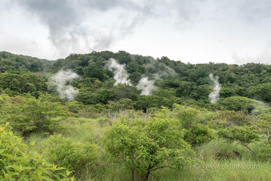 Rincon de la Vieja Nationalpark Vulkan
