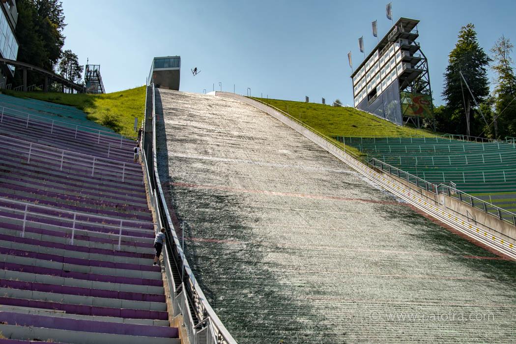 Sommer Skispringen Bergisel