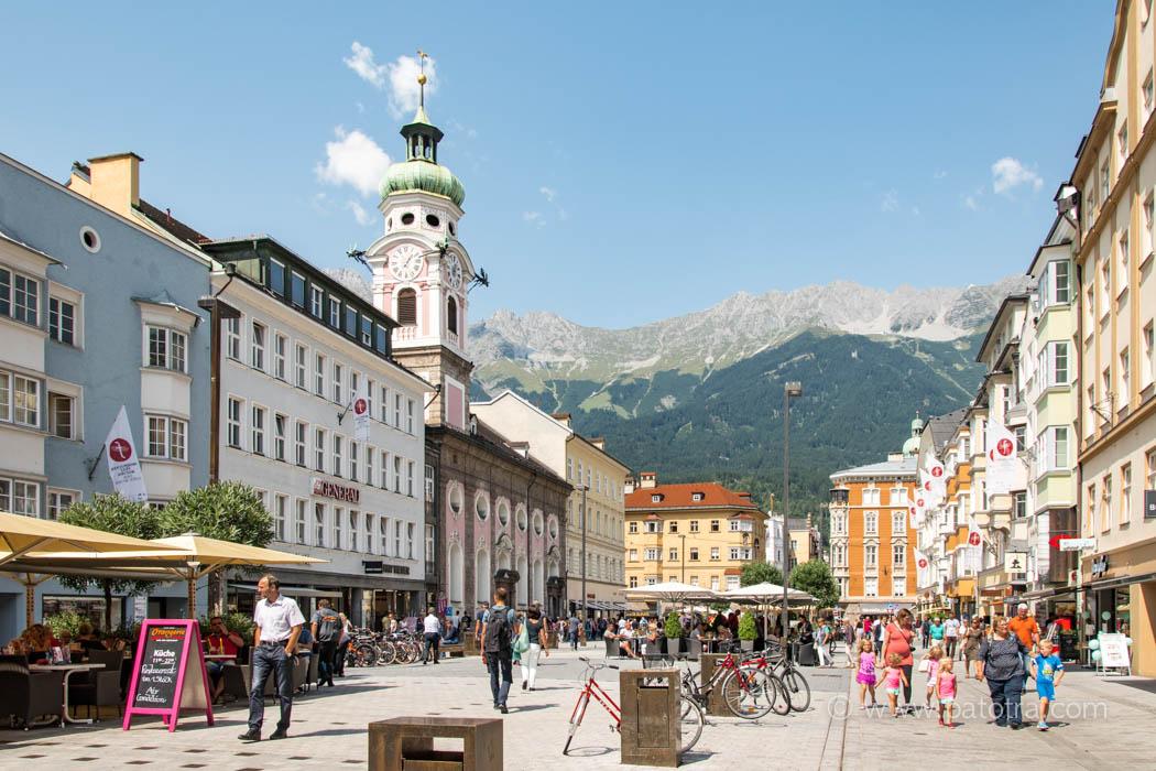 Innsbruck mit Teenagern