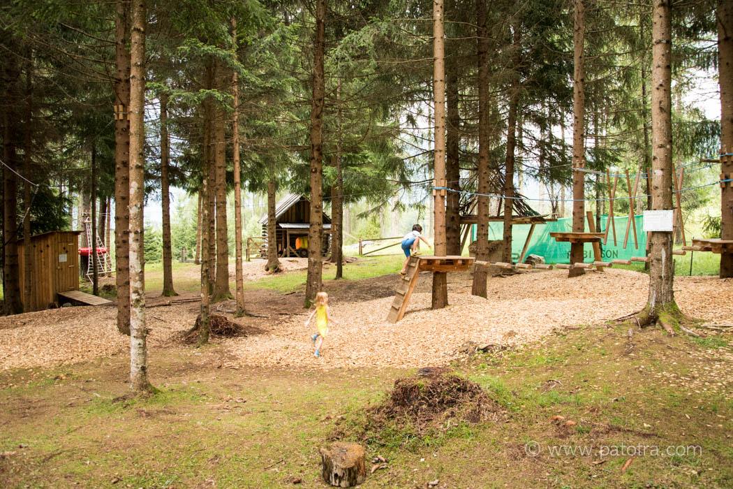 Stern Obsteig Waldspielplatz