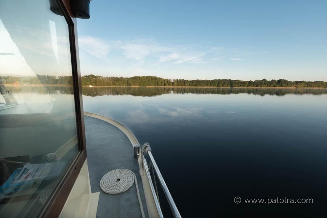 Hausboot kleine Seen