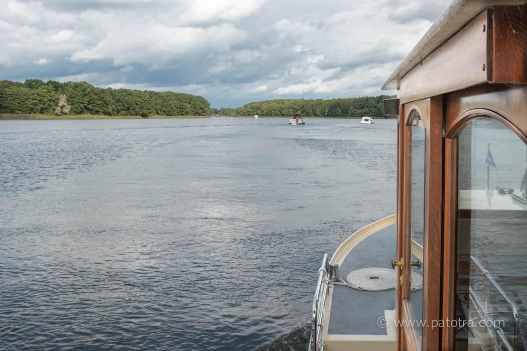 Natur Deutschland Hausboot