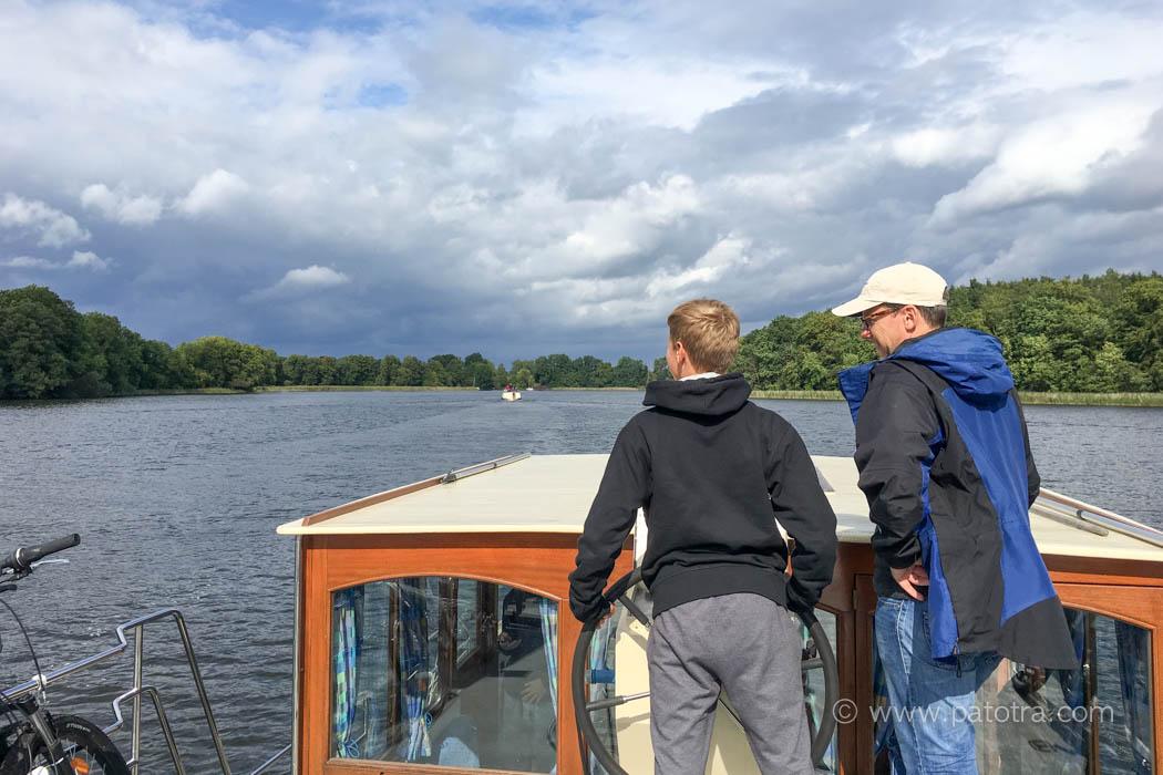 Familienferien Hausboot