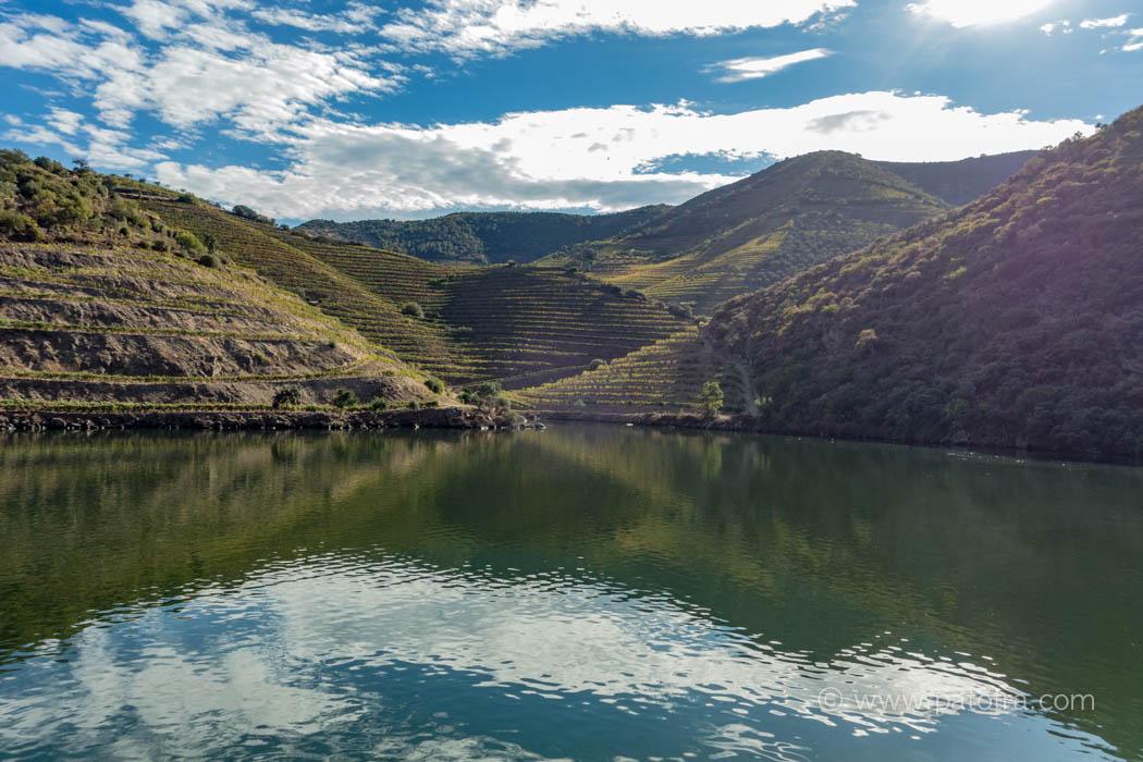 Douro Flussbett
