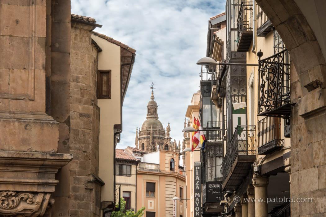 Salamanca Astronaut aus dem Mittelalter