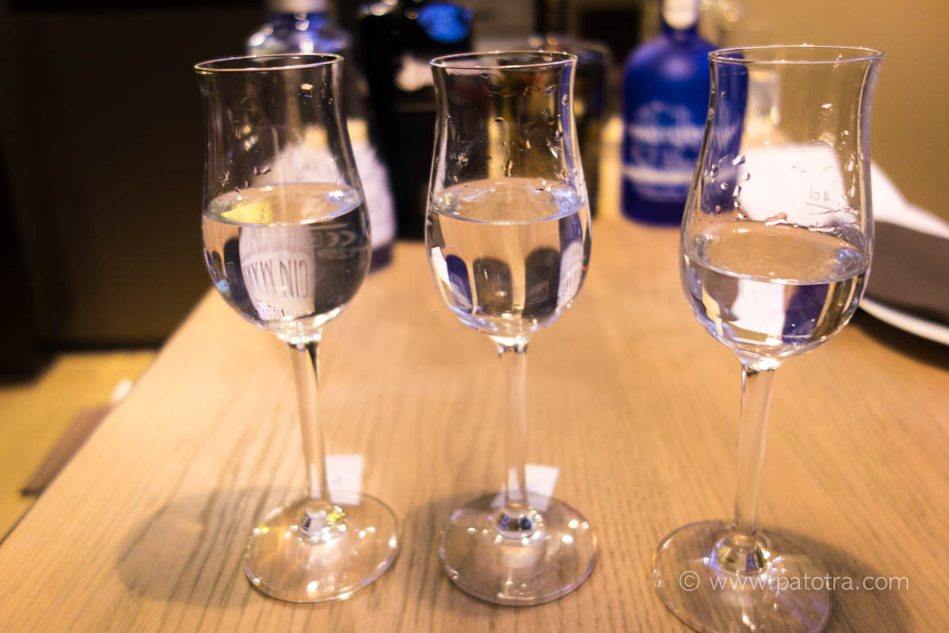 Gin Tasting Juckers Boutiquehotel