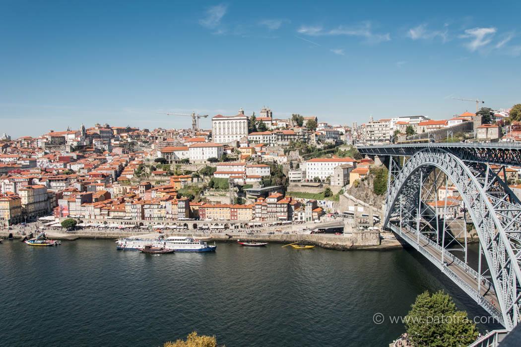 Blick Ponte Luis Porto