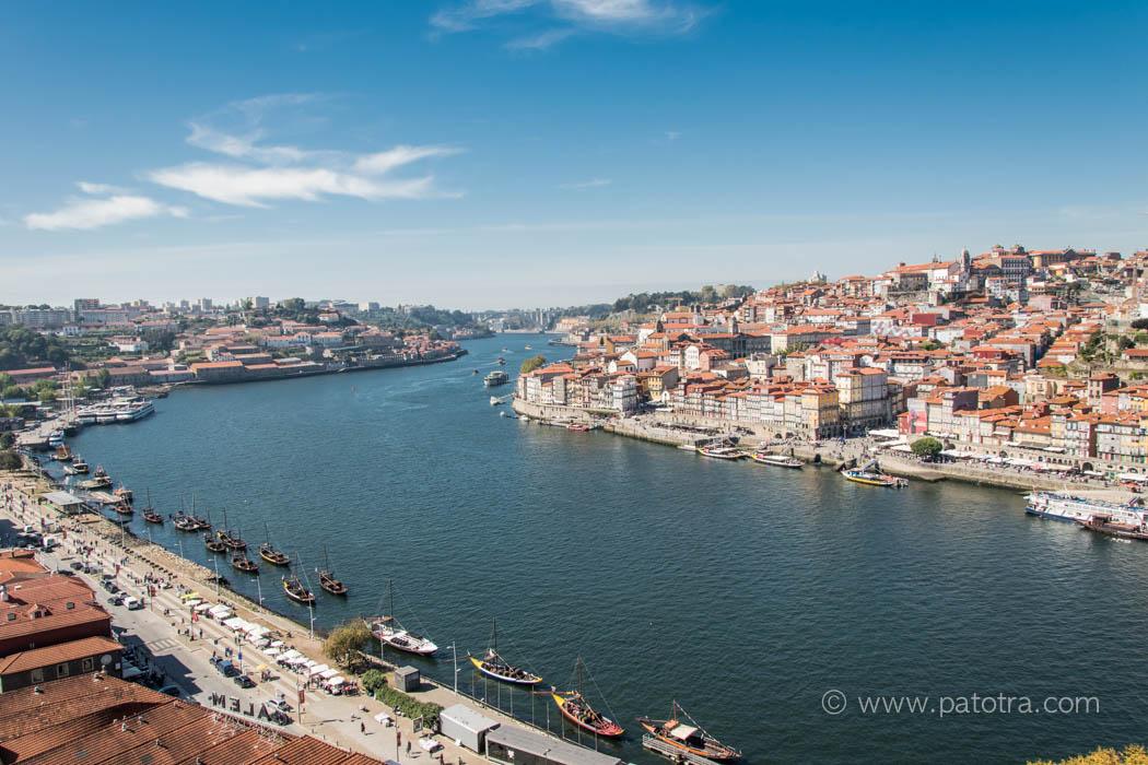 Blick Porto Douro Fluss