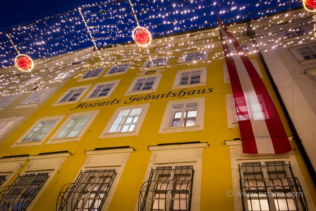 Mozart Geburtshaus Salzburg