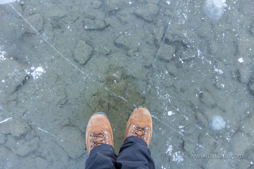 Seealpsee Wandern im Winter