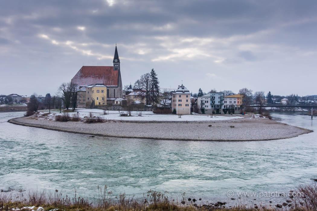 Salzach in Oberndorf