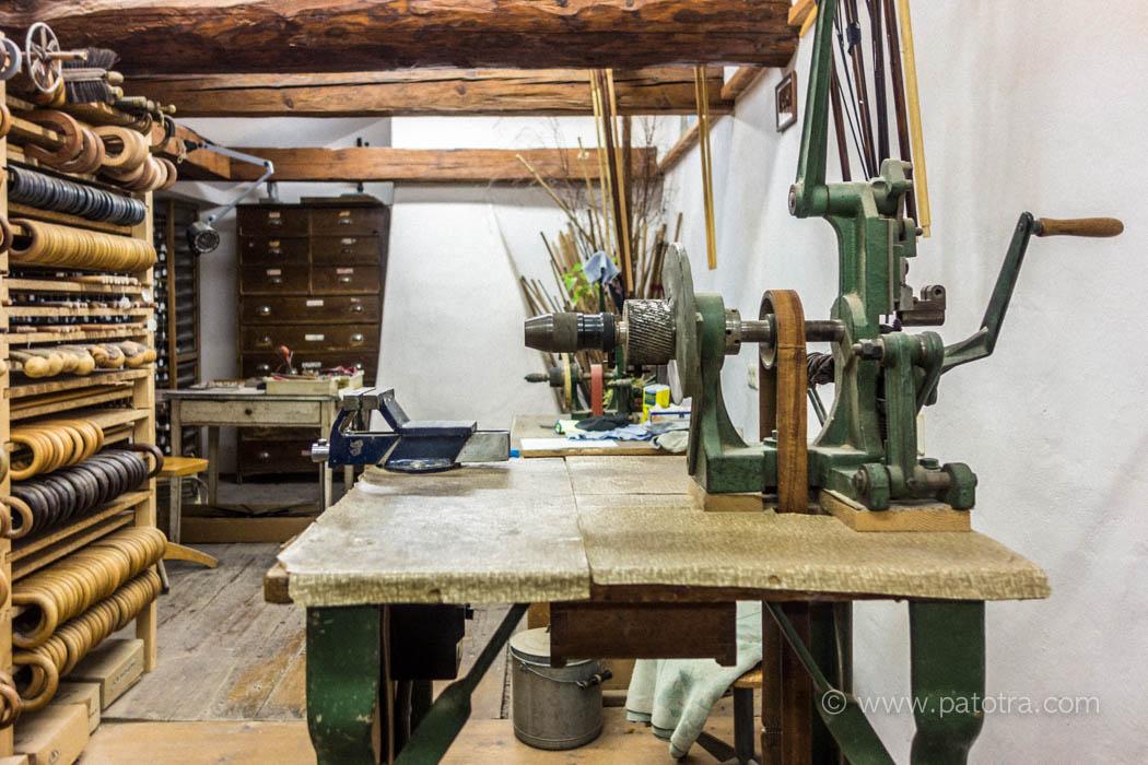 Werkstatt der Schirmmanufaktur