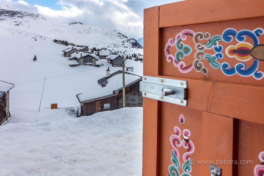 Jurte Ausblick Alp Flix