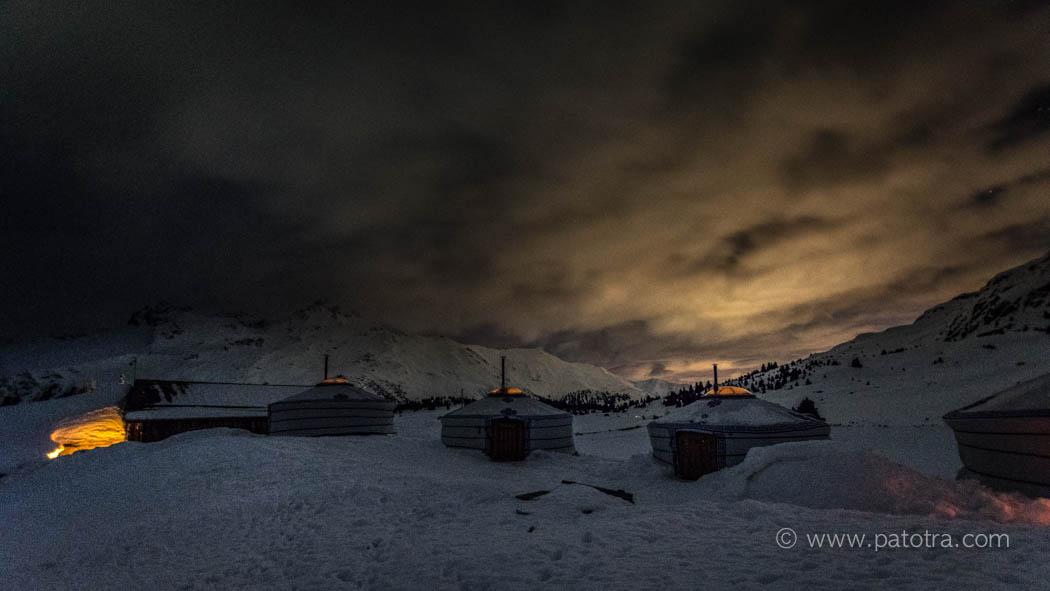 Nachthimmel Alp Flix