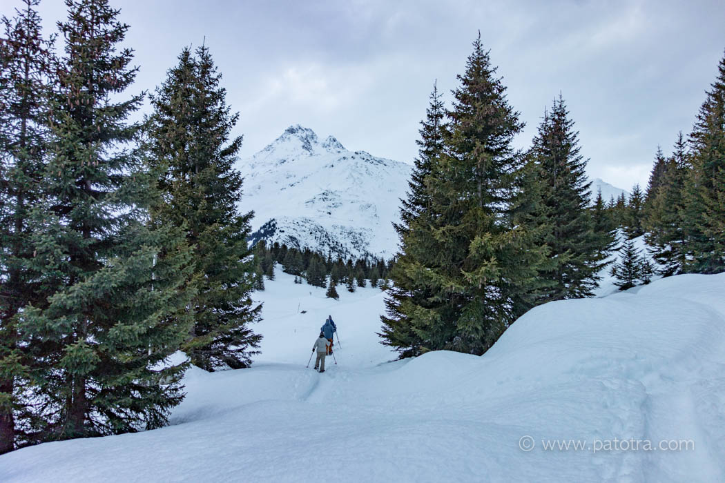 Schneeschuhwandern Graubuenden