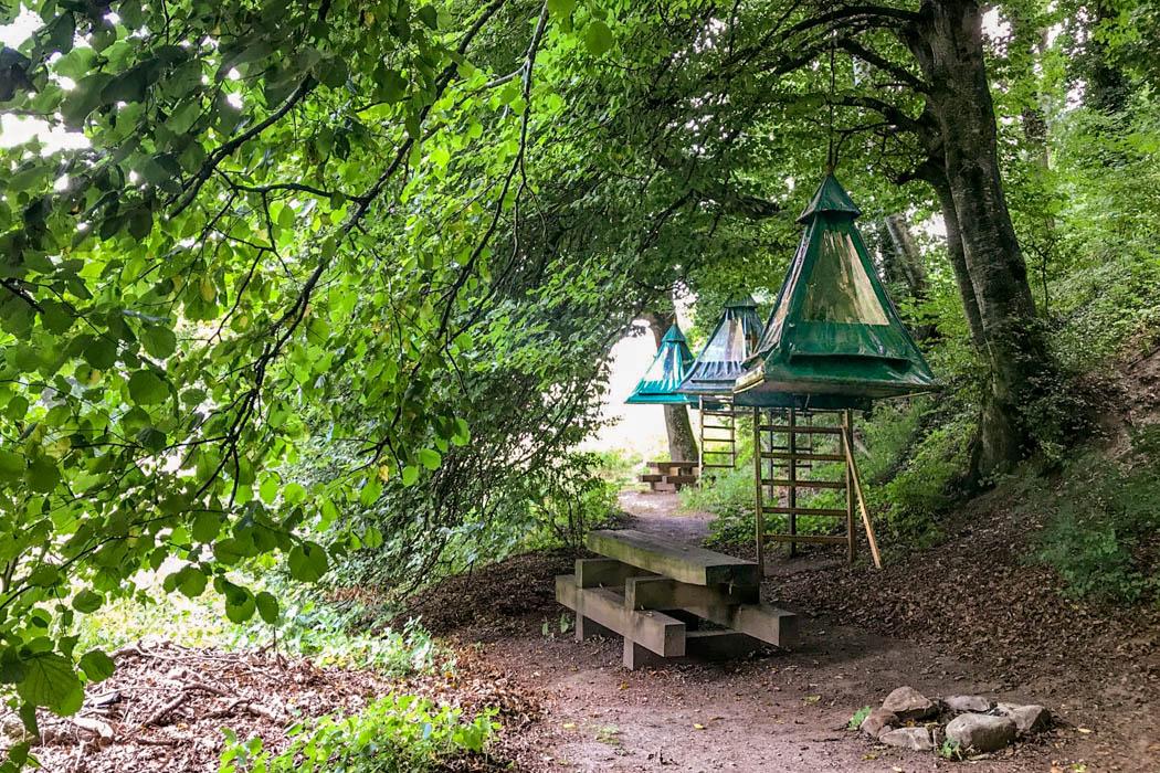Bivouac dans les Arbres / Zelte in den Bäumen
