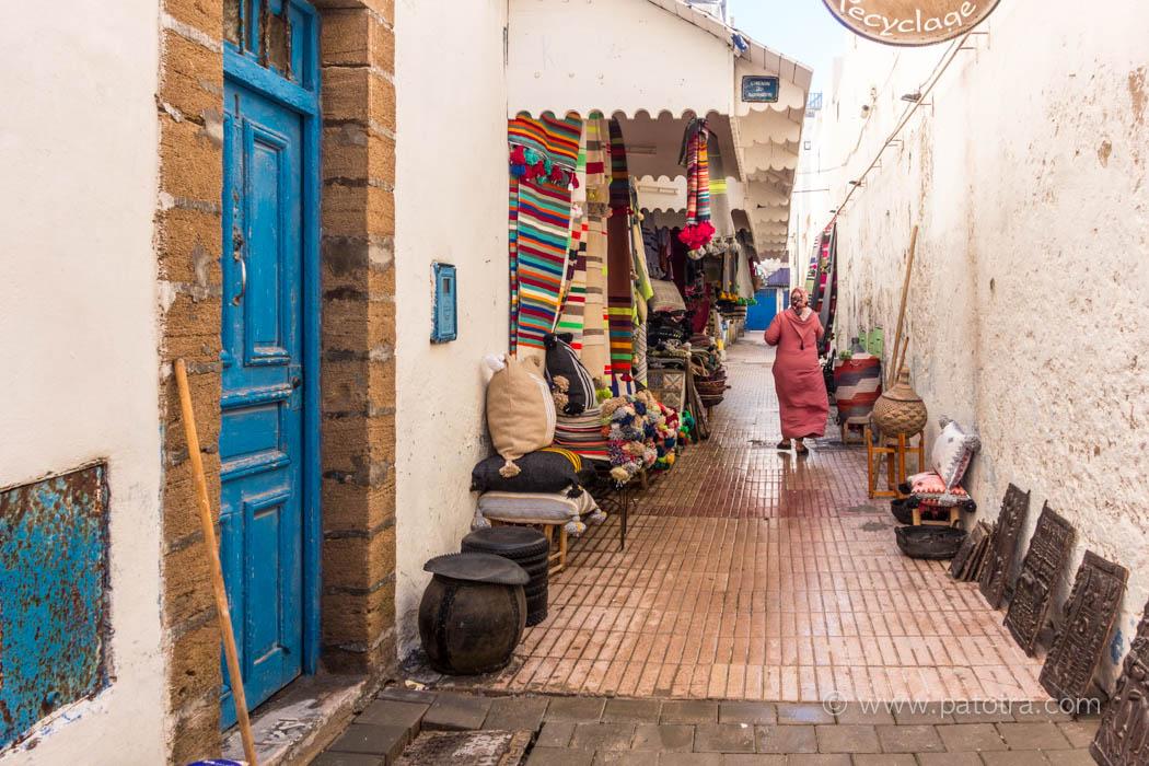 Gassen von Essaouria