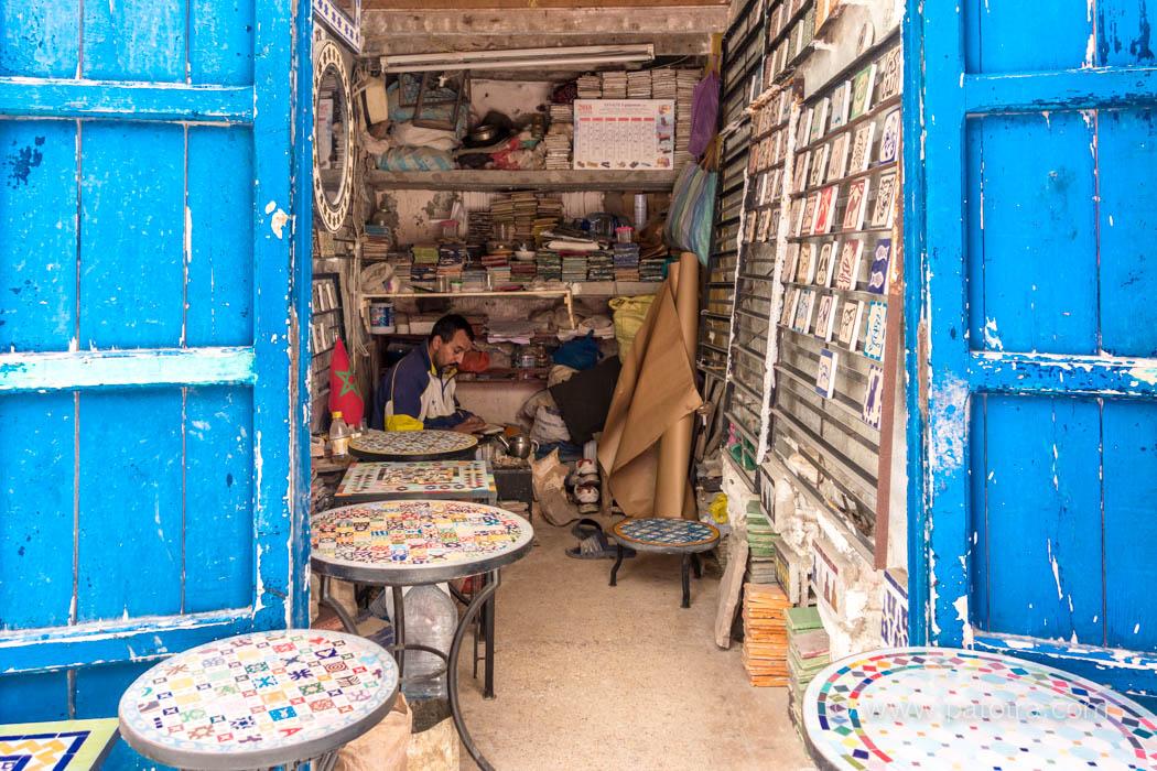 Kachel maler Essaouria