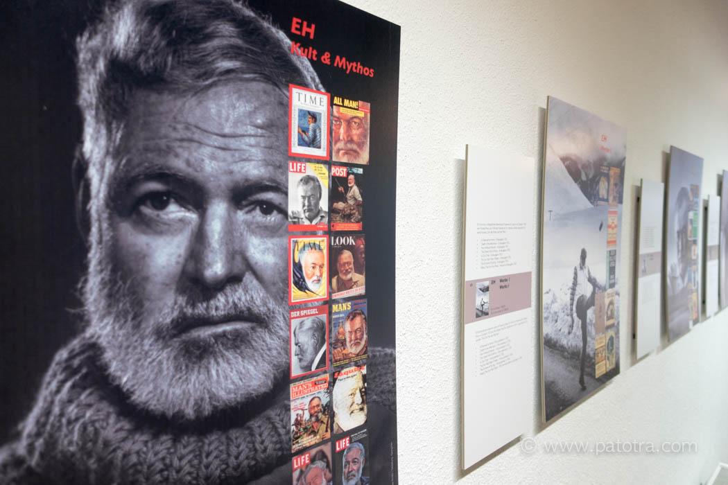 Hemingway Ausstellung in Gaschurn