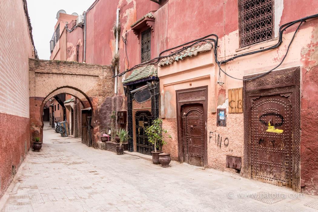 Marrakesch die rote Stadt