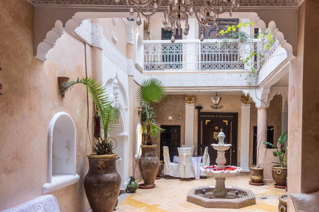 Marrakesch Riad Palais des Princesses Innenhof