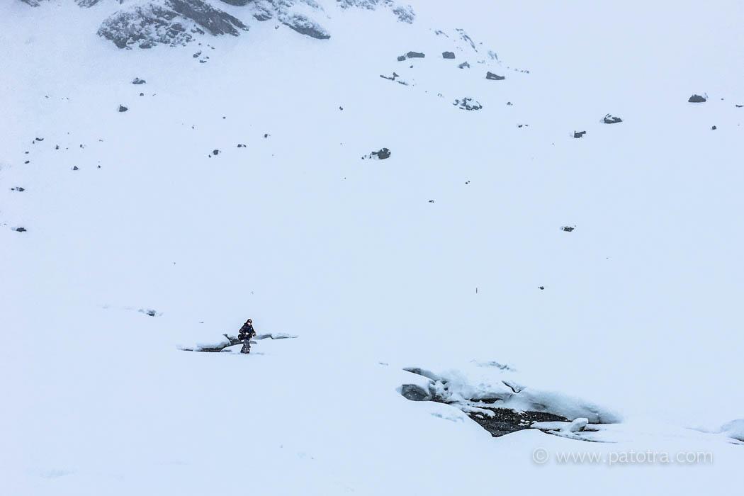 Winterwanderung am Silvrettasee