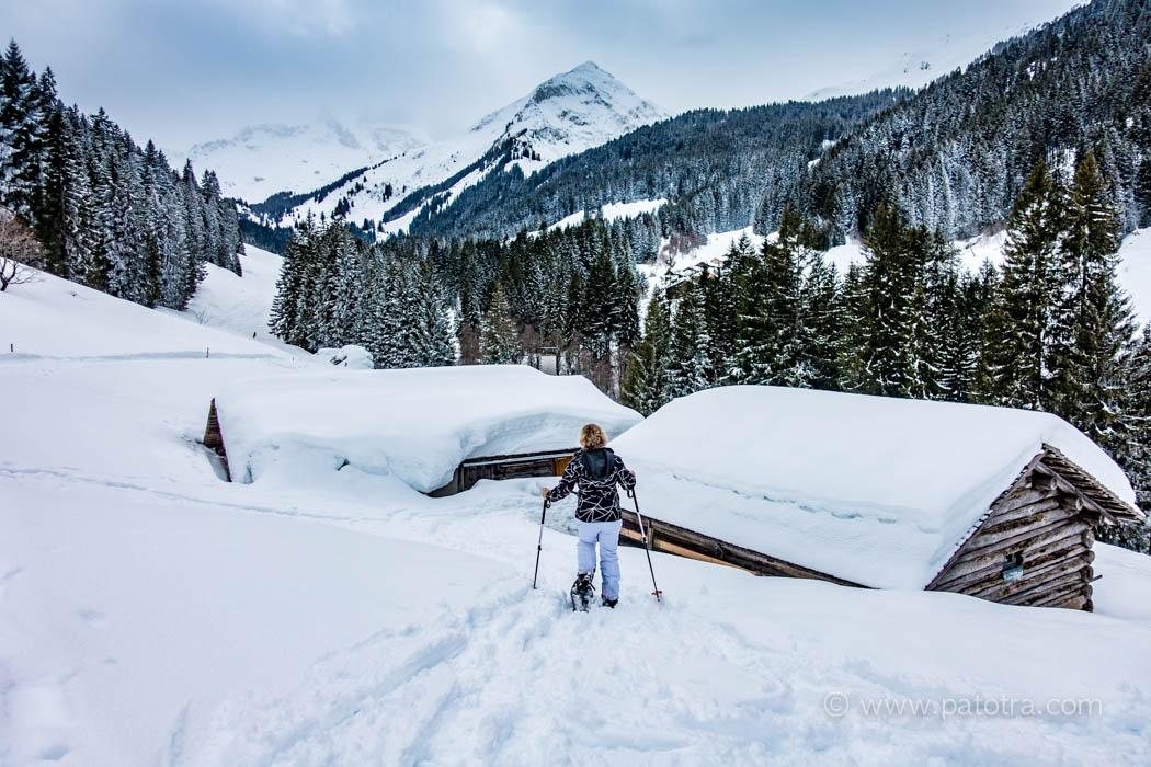 Schneeschuhwandern Montafon