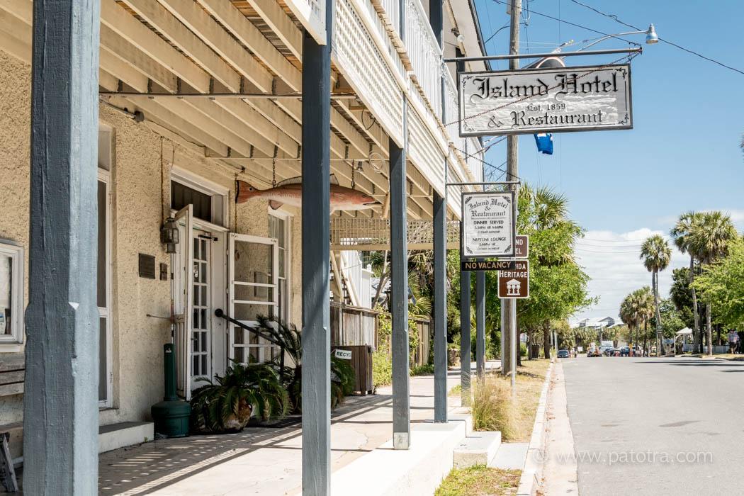 Das verfallende Island Hotel, Cedar Key