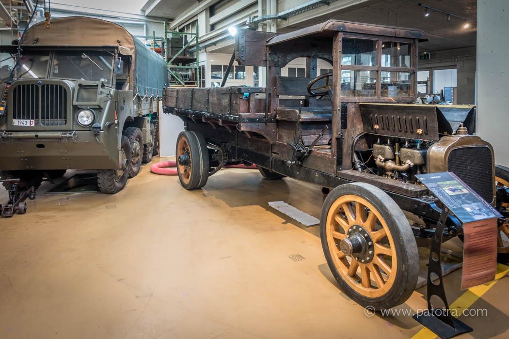 Saurer Caminhão von 1911