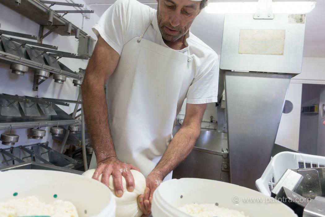Kaeseproduktion Menorca