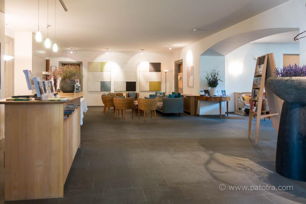 Empfang Bio Schlosshotel Bodensee