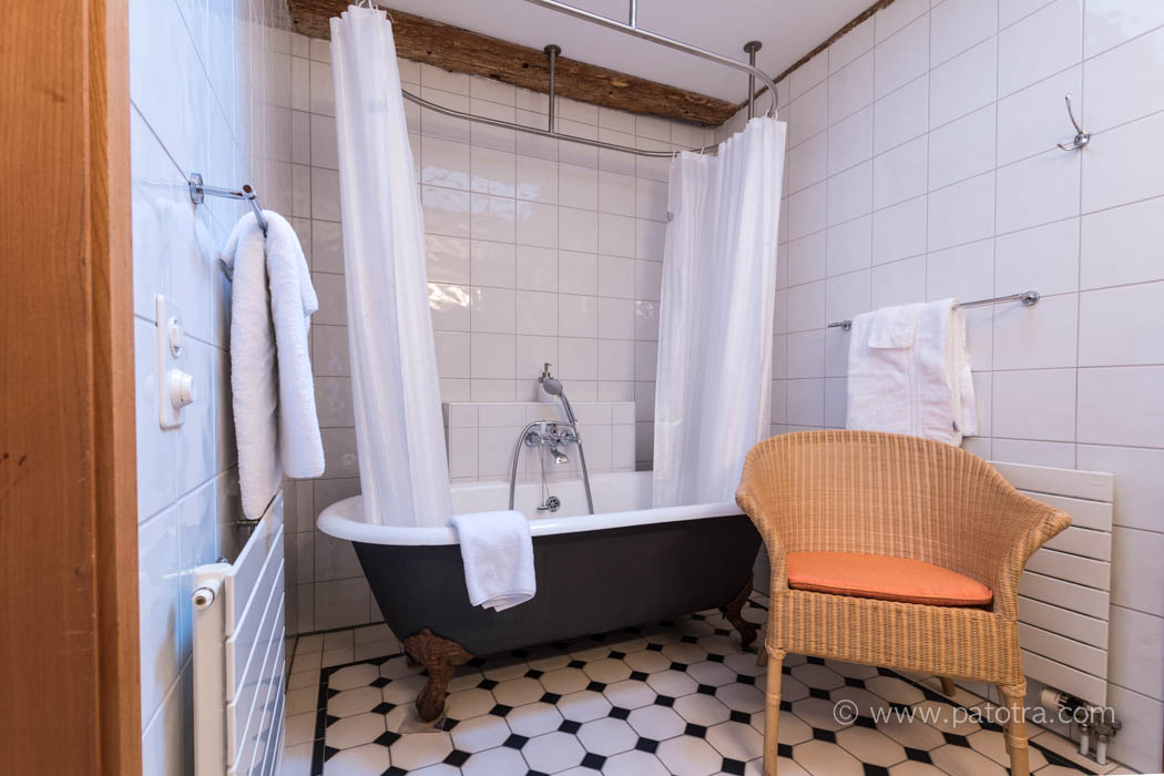 historisches Badezimmer