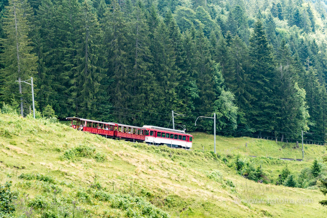 historische Rigibahn