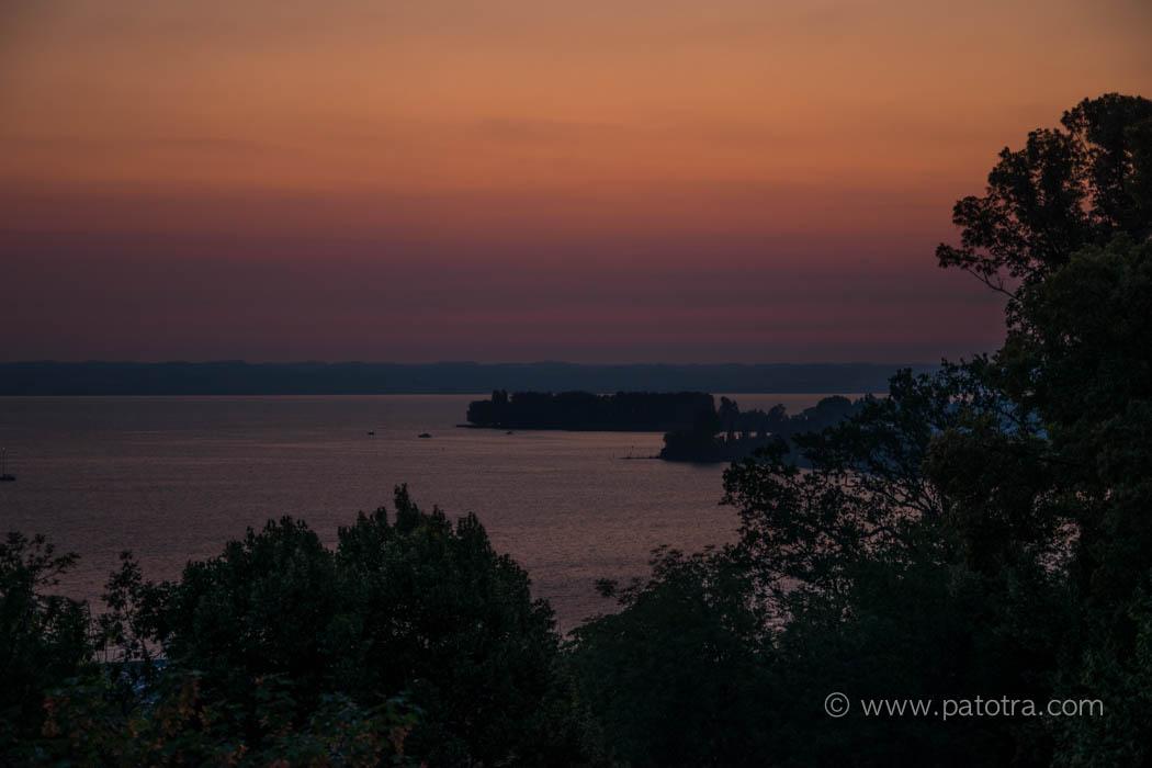 Sonnenaufgang Bodensee