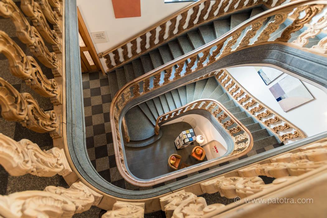 Treppe Schlosshotel Wartegg