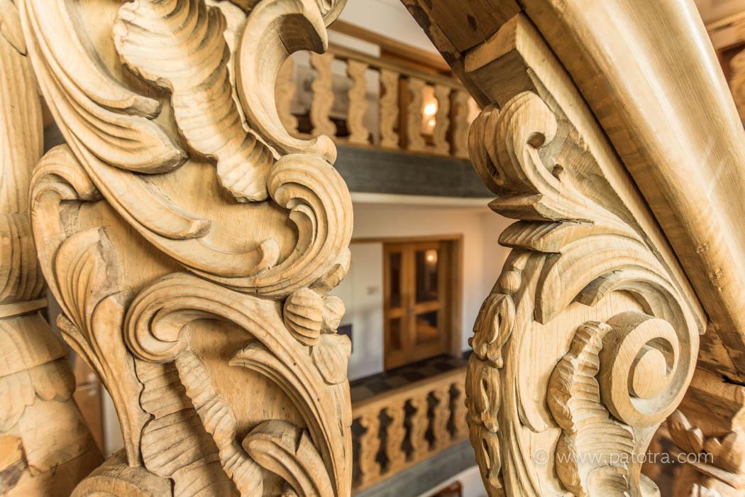 Treppe Bio Schlosshotel