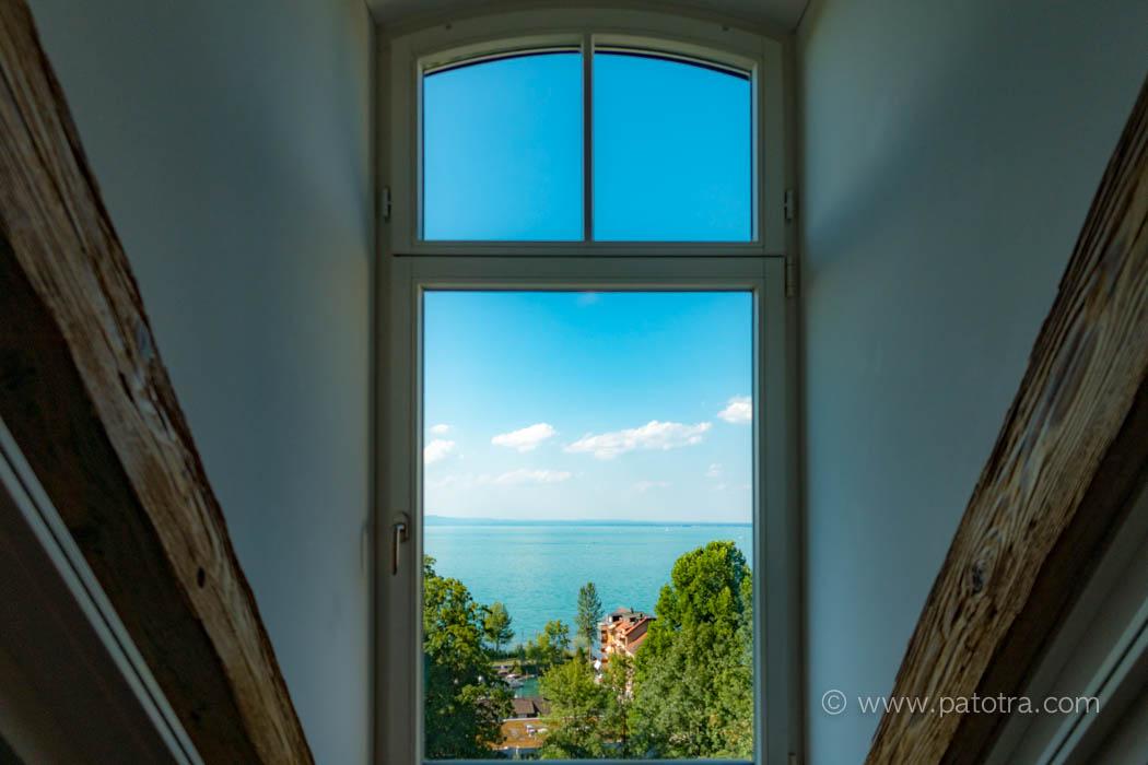Aussicht Bodensee Schlosshotel
