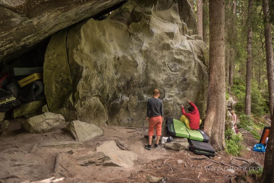 Bouldern Graubuenden