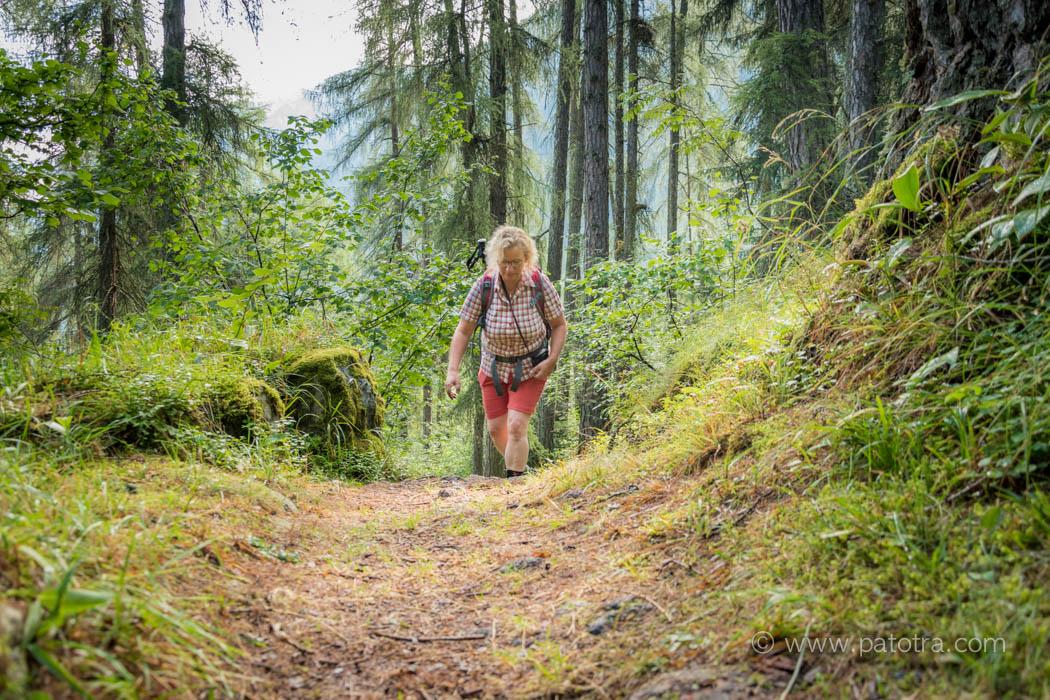 Wandern auf dem Walserweg